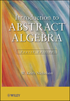 thumbnail image: Introduction to Abstract Algebra, 4th Edition