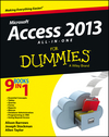 Access 2013 All-in-One For Dummies (1118510550) cover image