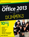 Office 2013 All-In-One For Dummies (1118550250) cover image