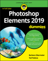 Photoshop Elements 2019 For Dummies (1119520150) cover image