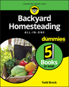 Backyard Homesteading All-in-One For Dummies (1119550750) cover image
