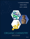 Organic Chemistry, Twelfth Edition (EHEP003750) cover image