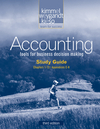 Study Guide, Volume I to accompany Accounting, Study Guide, Volume I , 3rd Edition (0470605251) cover image