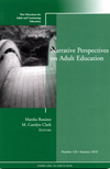 Narrative Perspectives on Adult Education: New Directions for Adult and Continuing Education, Number 126 (0470874651) cover image