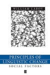 Principles of Linguistic Change, Volume 2: Social Factors  (0631179151) cover image