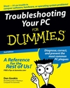 Troubleshooting Your PC For Dummies, 2nd Edition (0764596551) cover image