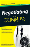 Negotiating For Dummies, Portable Edition