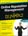 Online Reputation Management For Dummies (1118416651) cover image