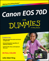 Canon EOS 70D For Dummies (1118461851) cover image