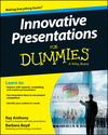 Innovative Presentations For Dummies (1118856651) cover image