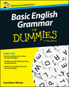 Basic English Grammar For Dummies - UK, UK Edition (1119071151) cover image