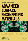 Advanced Surface Engineering Materials (1119314151) cover image