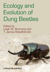 Ecology and Evolution of Dung Beetles (1444333151) cover image