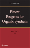 thumbnail image: Fiesers Reagents for Organic Synthesis Volume 25
