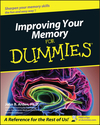 Improving Your Memory For Dummies (0764554352) cover image