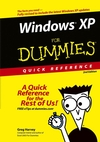 Windows XP For Dummies Quick Reference, 2nd Edition (0764578952) cover image