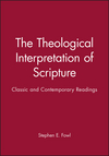 The Theological Interpretation of Scripture: Classic and Contemporary Readings (1557868352) cover image