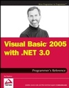 Visual Basic 2005 with .NET 3.0 Programmer's Reference (0470137053) cover image