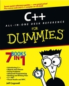 C++ All-in-One Desk Reference For Dummies (0764517953) cover image