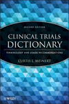 thumbnail image: Clinical Trials Dictionary: Terminology and Usage Recommendations, 2nd Edition