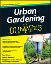 Urban Gardening For Dummies (1118340353) cover image