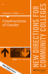 Constructions of Gender: New Directions for Community Colleges, Number 179 (1119459753) cover image