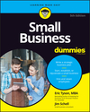 Small Business For Dummies, 5th Edition (1119490553) cover image