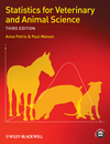 thumbnail image: Statistics for Veterinary and Animal Science, 3rd Edition