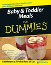 Baby and Toddler Meals For Dummies (1118052854) cover image