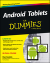 Android Tablets For Dummies (1118543254) cover image