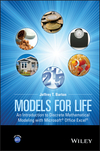 thumbnail image: Models for Life: An Introduction to Discrete Mathematical Modeling with Microsoft Office Excel