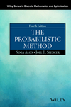 The Probabilistic Method, 4th Edition (1119061954) cover image