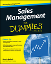 Sales Management For Dummies (1119094054) cover image