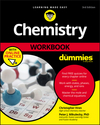 Chemistry Workbook For Dummies, 3rd Edition (1119357454) cover image