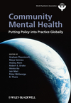 Community Mental Health: Putting Policy Into Practice Globally (1119998654) cover image