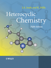 Heterocyclic Chemistry, 5th Edition (1405193654) cover image