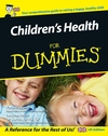 Children's Health For Dummies (0470027355) cover image