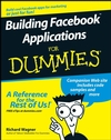 Building Facebook Applications For Dummies (0470277955) cover image