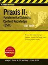CliffsNotes Praxis II: Fundamental Subjects Content Knowledge (0511) Test Prep (0470448555) cover image