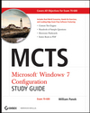 MCTS Windows 7 Configuration Study Guide: Exam 70-680 (0470568755) cover image