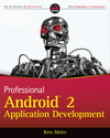 Professional Android 2 Application Development (0470637455) cover image