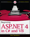 Beginning ASP.NET 4: in C# and VB (0470640855) cover image