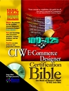 CIW E-Commerce Designer Certification Bible (0764548255) cover image