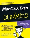Mac OS X Tiger For Dummies (0764576755) cover image