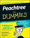 Peachtree For Dummies, 3rd Edition (1118051955) cover image
