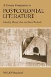 A Concise Companion to Postcolonial Literature (1118652355) cover image
