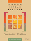 Elementary Linear Algebra: Applications Version 11th Edition (EHEP002955) cover image