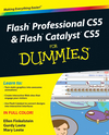 Flash Professional CS5 & Flash Catalyst CS5 For Dummies (0470613556) cover image