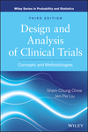 thumbnail image: Design and Analysis of Clinical Trials: Concepts and Methodologies, 3rd Edition