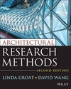 Architectural Research Methods, 2nd Edition (0470908556) cover image